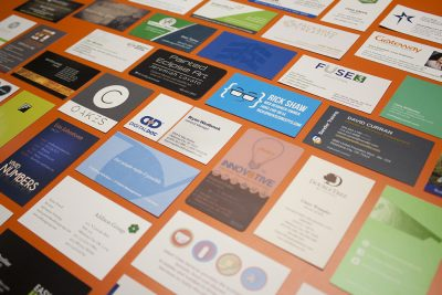 How does your business card stack up ts online marketing a few years ago we did an analysis of business cards we had received at networking events we looked at color paper size orientation information reheart Gallery
