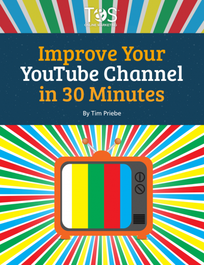 Improve Your YouTube Channel in 30 Minutes cover