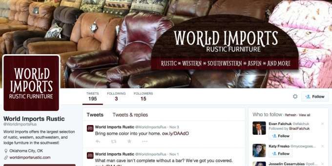 world-imports-rustic-furniture-twitter